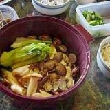 シリコンスチーマーで簡単 アサリと豆腐の酒蒸し