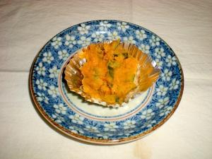お弁当に♪簡単。かぼちゃ・マーガリン