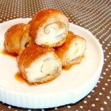 お弁当に★椎茸とチーズの豚肉巻き