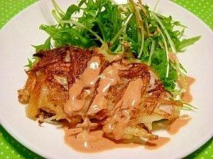 旨っ☆千切りジャガイモがカリッと鶏ササミ肉のソテー