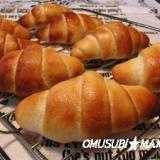 米粉で基本のバターロールパン