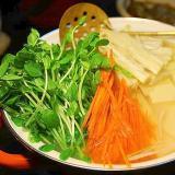 ヘルシー鍋*豆腐と野菜