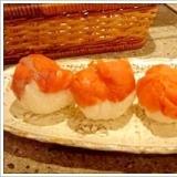 ラップで簡単。スモークサーモンの手毬寿司