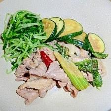 漬けておくだけ、野菜のうまみたっぷり豚焼き