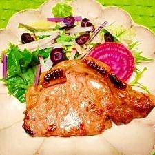 豚肉の☆醬油麴ソテー