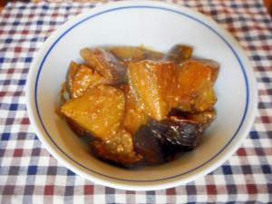 丸なすの生姜みそ炒め