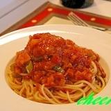 サルサソースでスパゲッティ☆アラビアータ