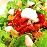 【超簡単 ヘルシー】トマトドレッシングのサラダ
