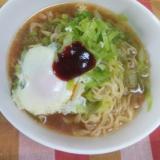インスタント袋麺アレンジ☆キャベたま味噌ラーメン