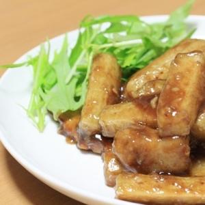 和稔じょ(長芋)の北京風酢豚