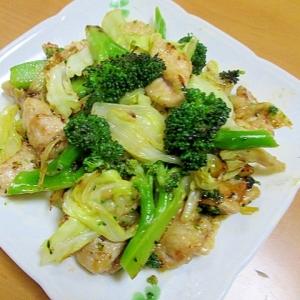 とろける食感の豚肉と野菜の炒め物