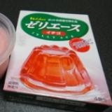 ゼリーエースで☆豆乳イチゴゼリー☆ババロア風?