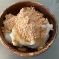 フライパン1つでできる(^^)片栗粉のミルク餅♪