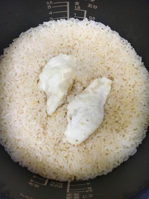 炊飯器で簡単鯛めし【鯛の刺身使用】