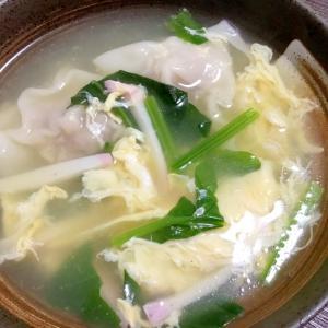 ワンタンかき玉スープ