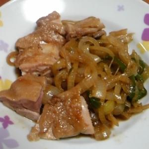 鳥肉の味噌炒め