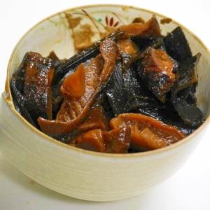 料亭の味を食卓に!昆布と椎茸の佃煮