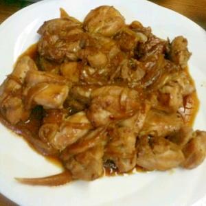 鶏肉のガーリックバター醤油