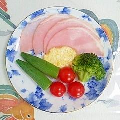 ロースハムのマヨネーズサラダ