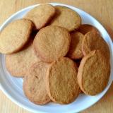 生姜味のアイスボックスクッキー