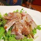 おうち居酒屋、鯛の中華風カルパッチョ