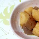 里芋と蒟蒻の煮物++