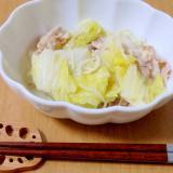 白菜と豚バラの重ね蒸し煮