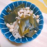大豆と昆布のほっこり煮物
