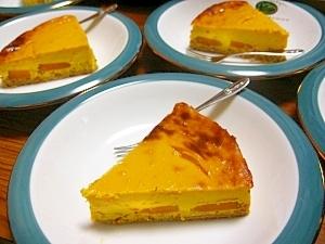 パンプキン豆腐チーズケーキ♡♡