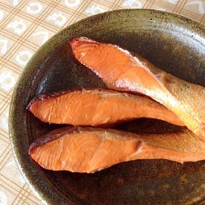 フライパンで燻製☆甘鮭
