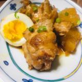 圧力鍋で簡単☆鶏肉と大根と卵のさっぱり煮