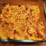 サバ缶のトマトチーズ焼き