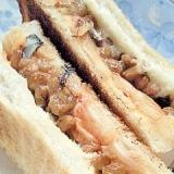 栄養満点!腹いっぱい!納豆キムチーズサンド