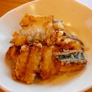 梅ポン酢で食べる☆鯖のから揚げ☆