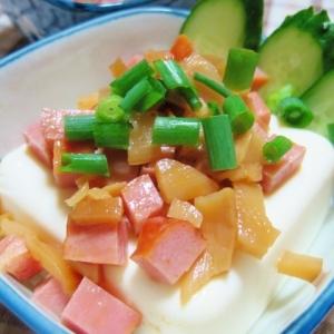 チャー・メン豆腐