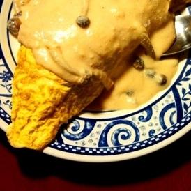 簡単ヘルシー、タラコしめじの豆乳クリームオムライス