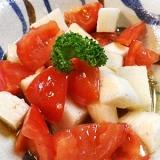 トマト長芋の簡単サラダ
