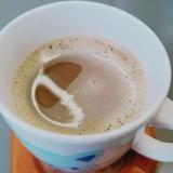 チョコ入りコーヒー牛乳