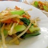 シャキシャキ野菜炒め オイスターソースのうまみで。