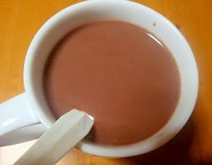 ホットチョコレートドリンク