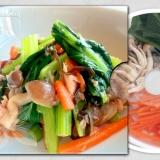 あっさり美味しい*小松菜とツナの塩昆布和え*