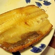皮もパリパリ★トースターで簡単干物
