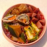 弁当のおかず☆かぼちゃの煮物