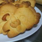 ホットケーキミックスで簡単手持ちナッツクッキー
