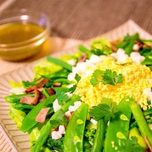 春野菜たっぷりのミモザサラダ