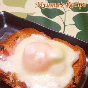 食パンで簡単★なんちゃってエッグベネディクト