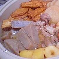 生姜醤油で姫路おでん !    ♪♪
