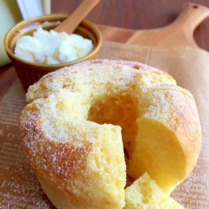HMで簡単‼︎蜂蜜とマスカルポーネチーズのケーキ♪