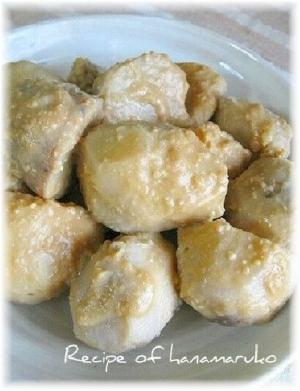 里芋の煮物・味噌煮っころがし