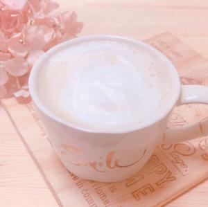 ふわふわ泡のカフェラテ